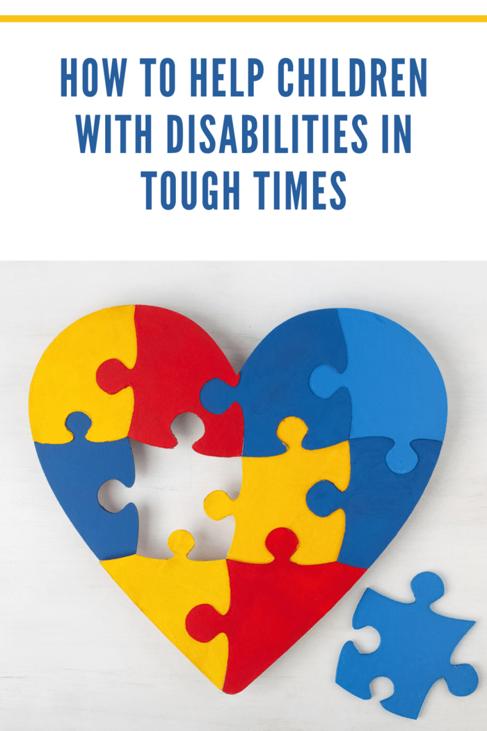 Being perpetually patient, tolerant, and understanding should help your child develop the same attitude to their disability.