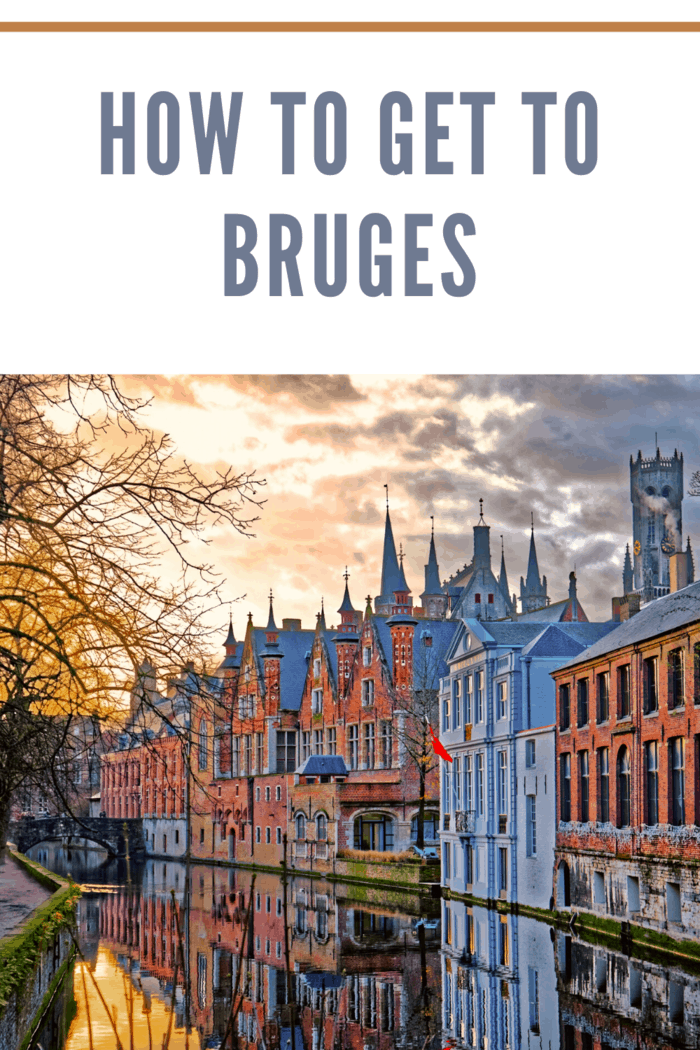 To travel from Brussels to Bruges, you can there are different means available.
