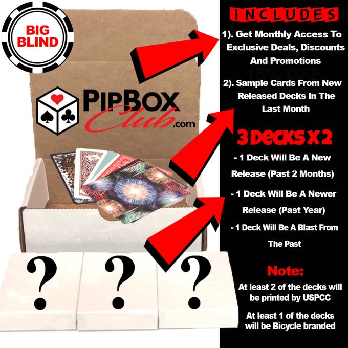 big blind pip club box