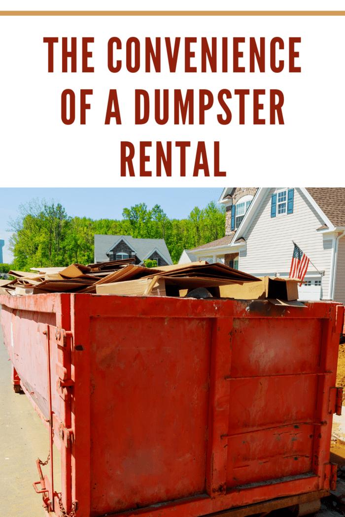 orange dumpster rental