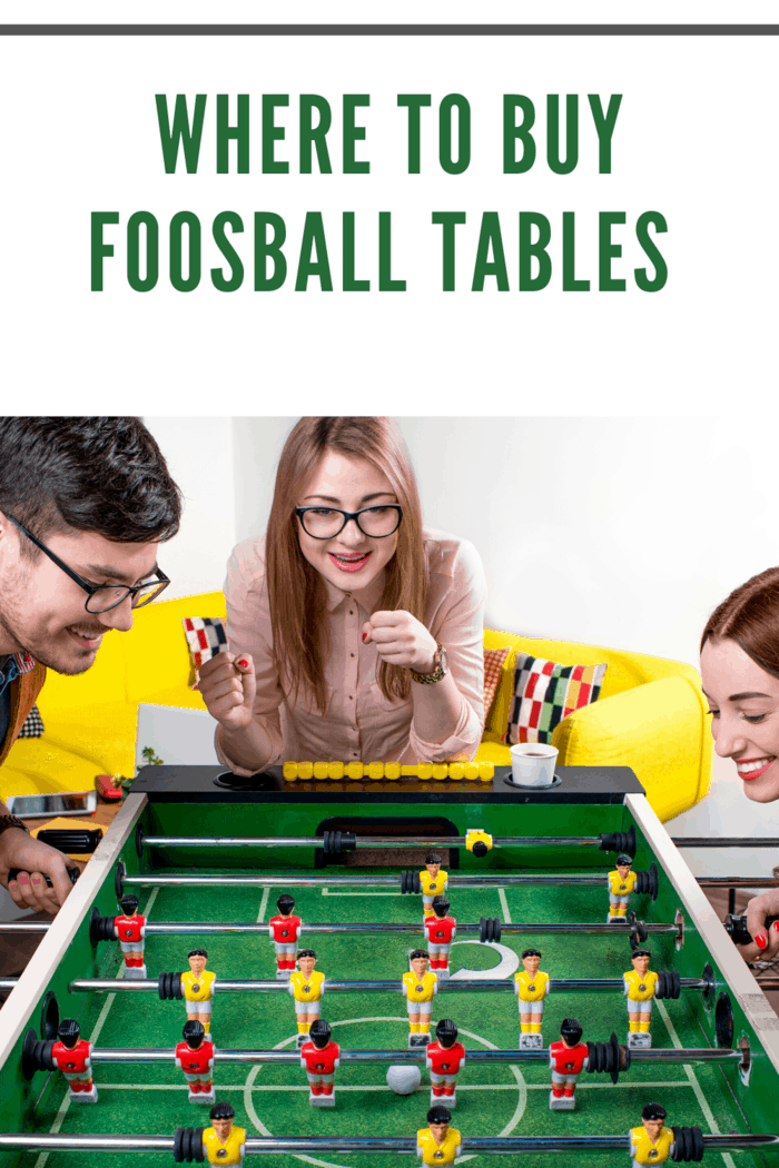 fooseball tables