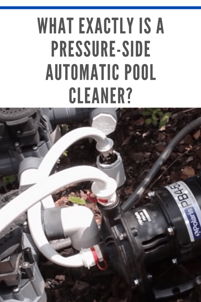automatic pool cleaner hooked up to clean