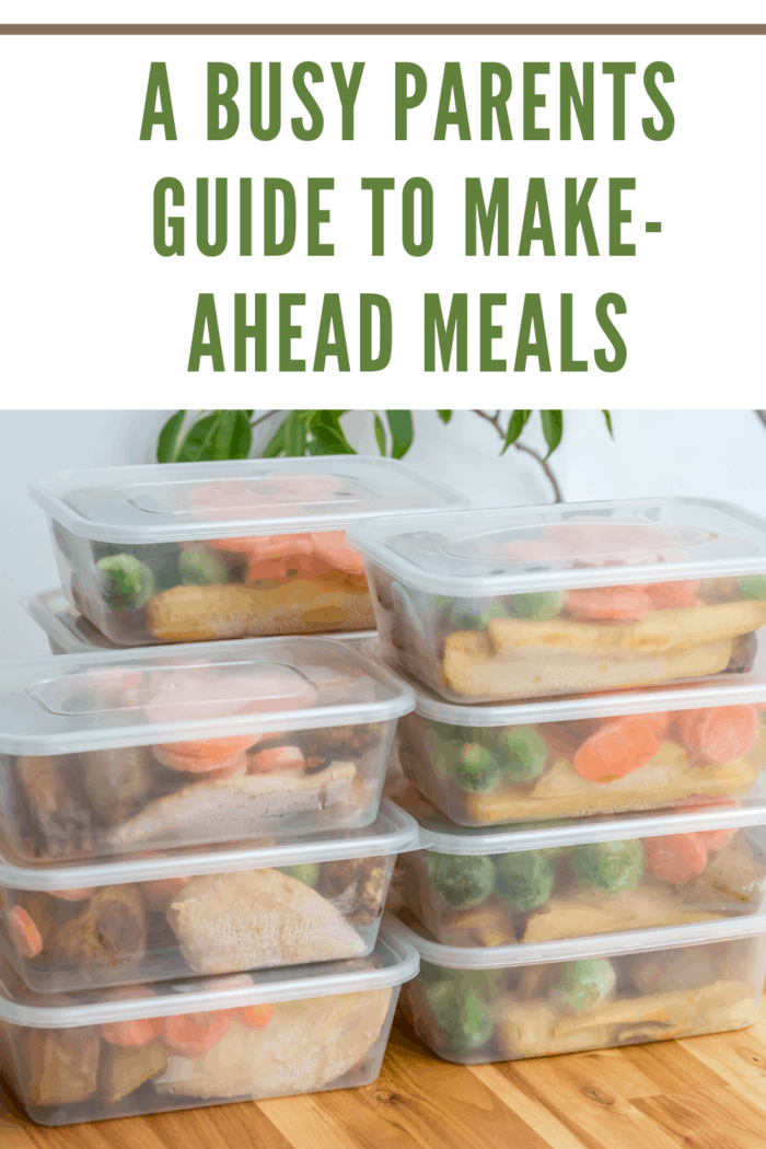 make ahead meals in individual containers