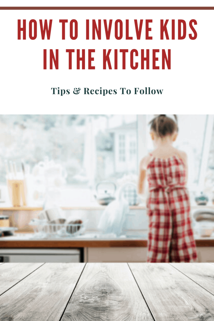 Girl in large red and white gingham print romper washing dishes