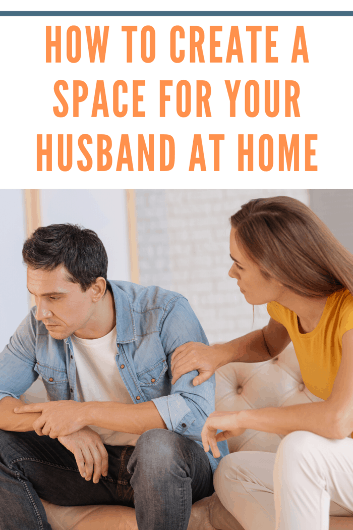 husband and wife trying to communicate and needing space away from each other