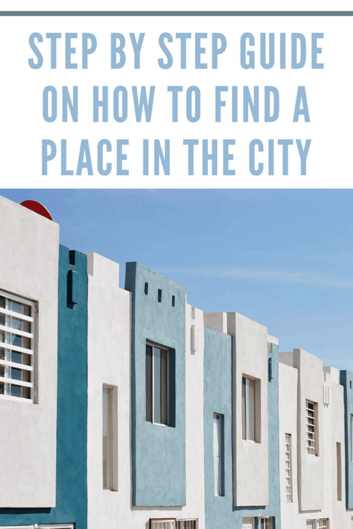 Step by Step Guide on How to Find a Place in the City (2)