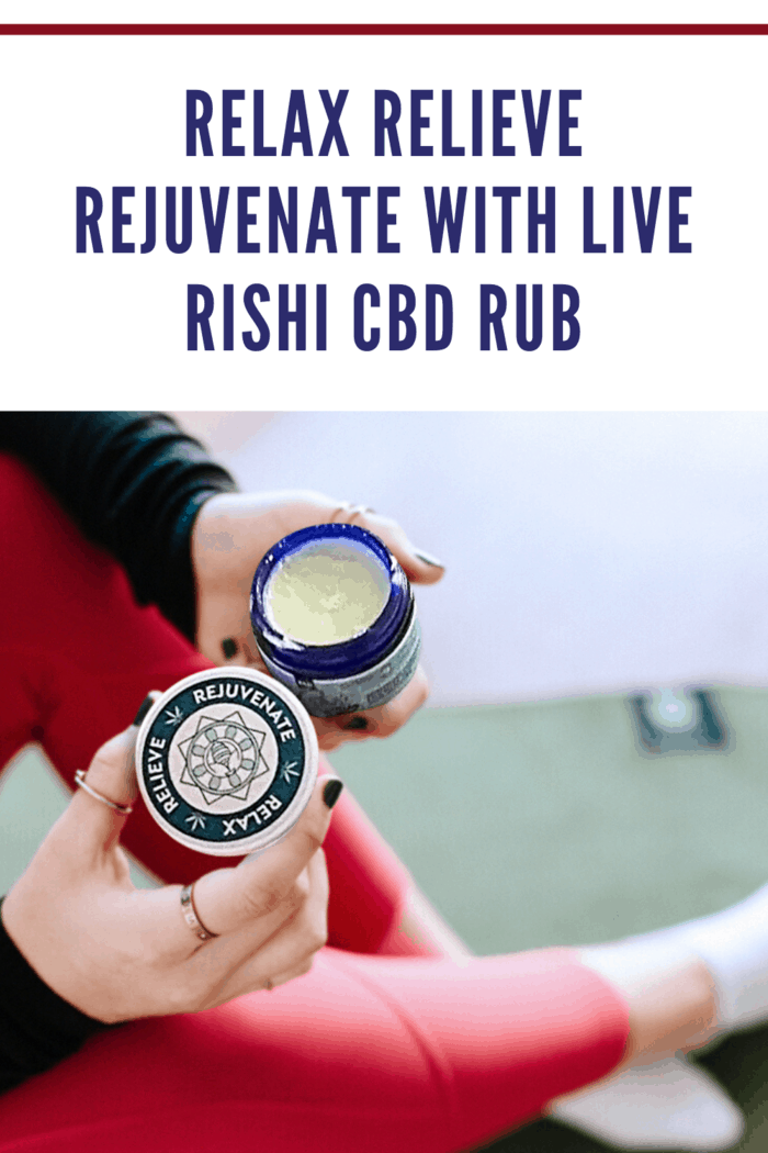 Rishi Rub in woman's hands ready to apply