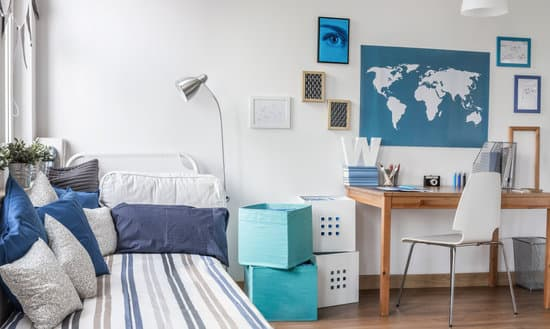 Interior of designed room for male teenager