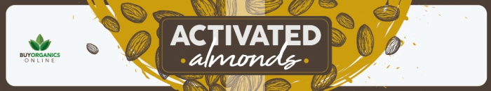 Are There Any Health Benefits Of Eating Activated Nuts graphic showing activated nuts
