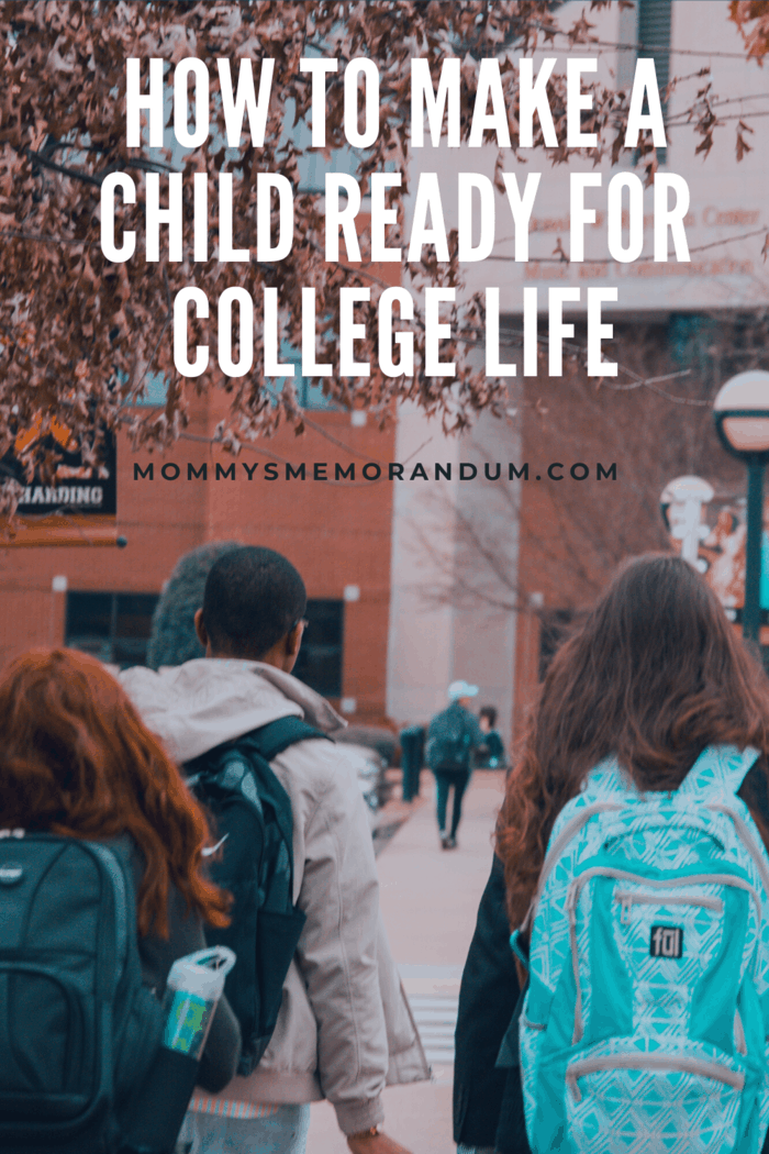 College life, moving away from family, and living independently is challenging.
