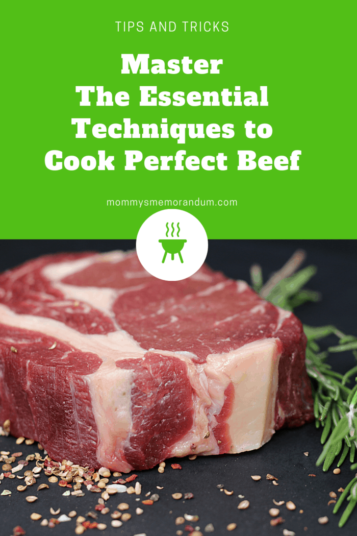 There are essential techniques to cook beef to perfection and we want you to master them. #beef #steak #castironskillet