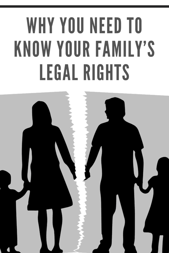 CLIP ART OF MOTHER DAUGHTER AND FATHER SON RIPPED REPRESENTING DIVORCE AND CUSTODY