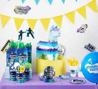 fortnite party decorations from party city