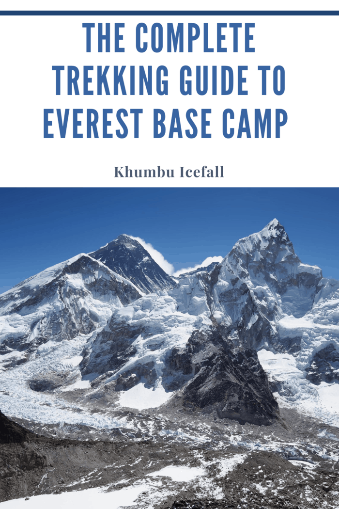 Mount Everest, Mt Nuptse and the Khumbu Icefall seen from Kala Patthar, Sagarmatha National Park, Khumbu Region, Nepal.