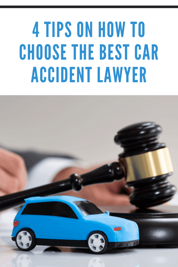 Car Accident Liability Insurance Lawyer And Gavel