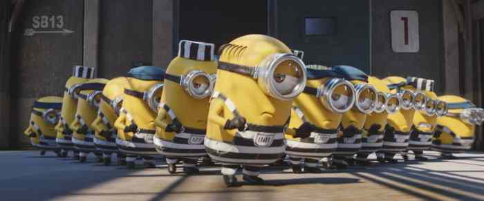 minions from descpicable me 3
