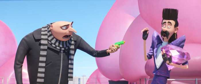 gru from despicable Me 3 special edition