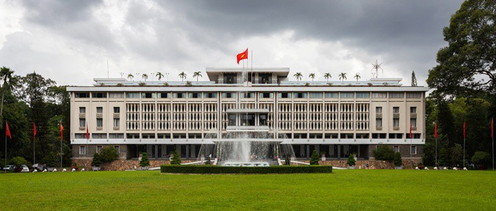 war remenant tourism in vietnam The Reunification Palace
