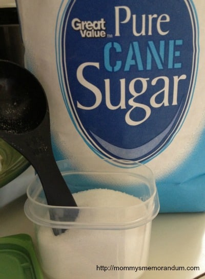 4 TBLS Sugar
