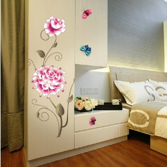 Bedroom Vinyl Wall Art Decals