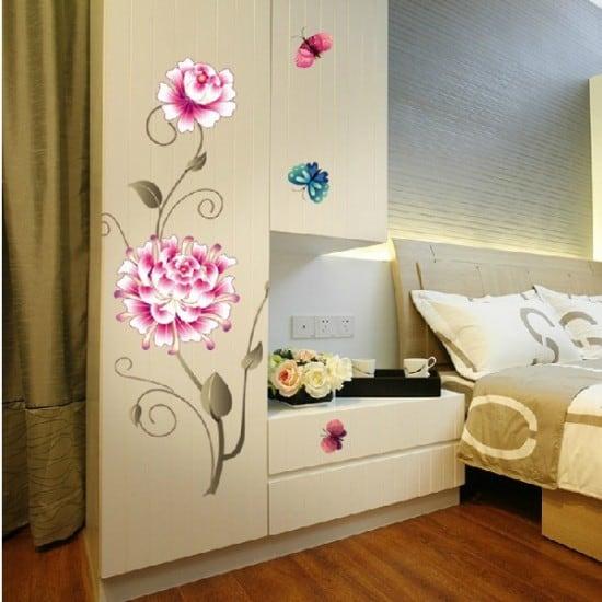 Beautiful Bedroom Vinyl Wall Art Decals