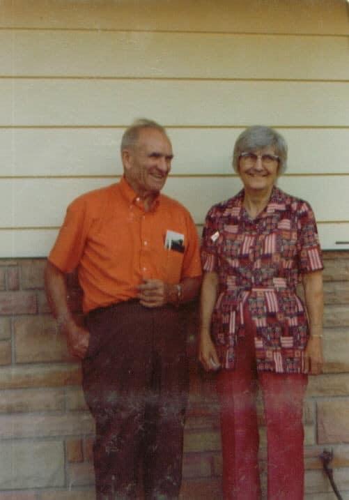 grand daddy and grandma elsie