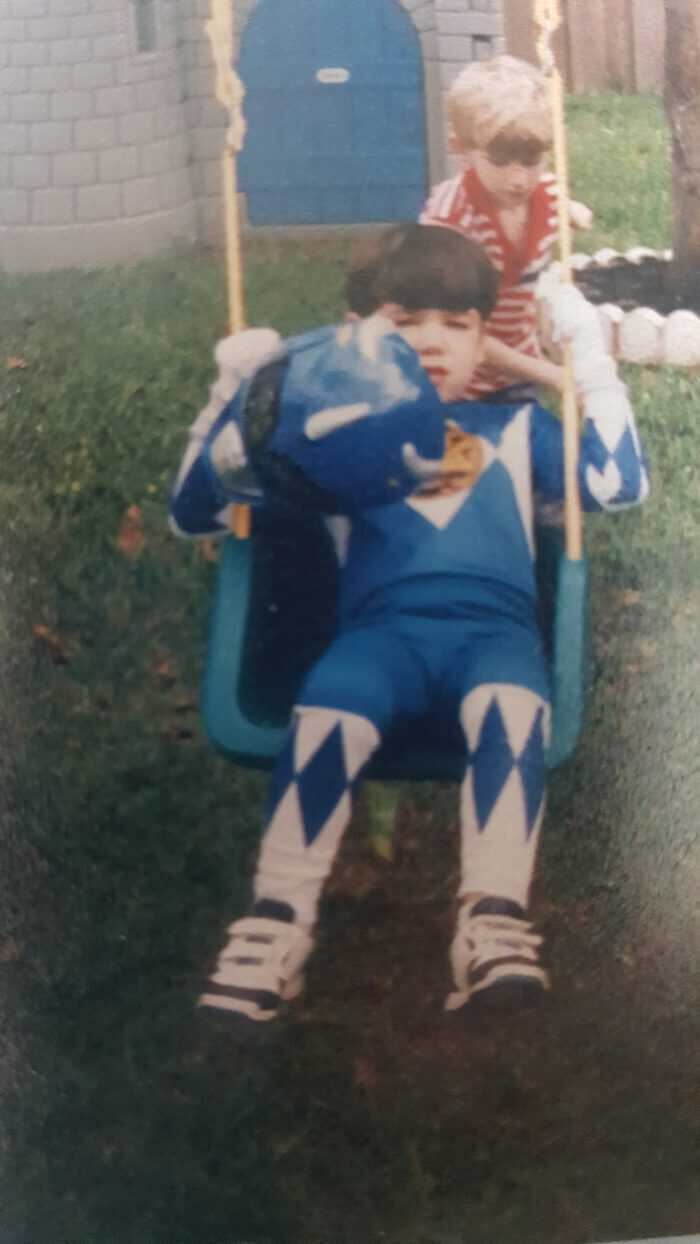 jake as a power ranger