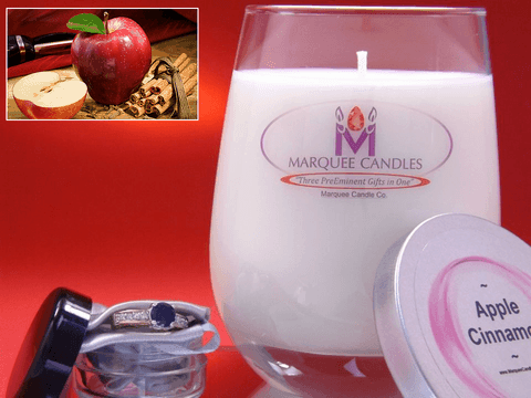 Apple Cinnamon Marquee Candle