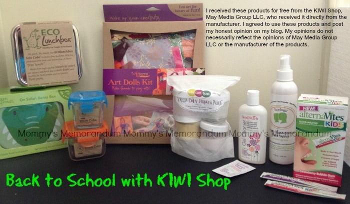 Back to School with KIWI Shop