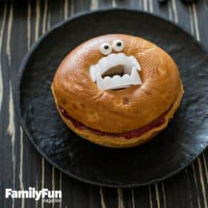 Family Fun's Bagel of Doom Food Fun