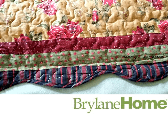 Brylane Home Virginia Quilt scallopped edges