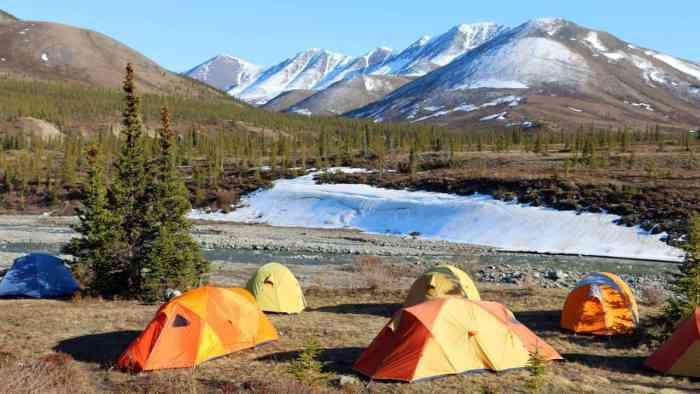 Camping in Canada