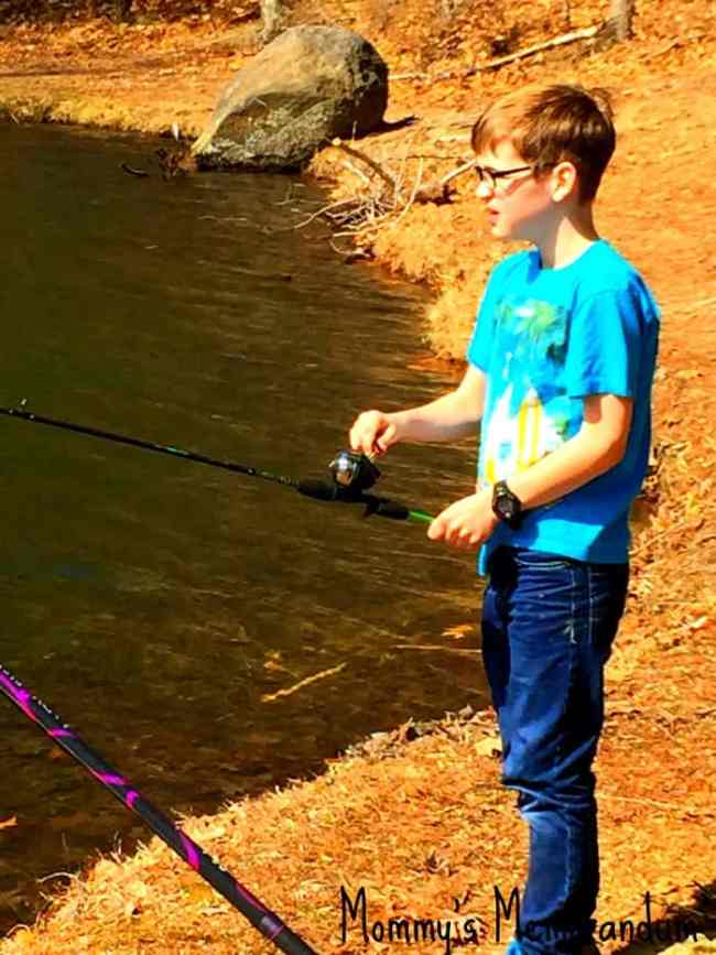 Casting out with the ugly stick