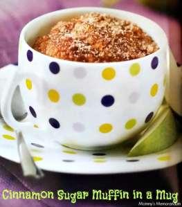 Cinnamon Sugar Muffin Recipe