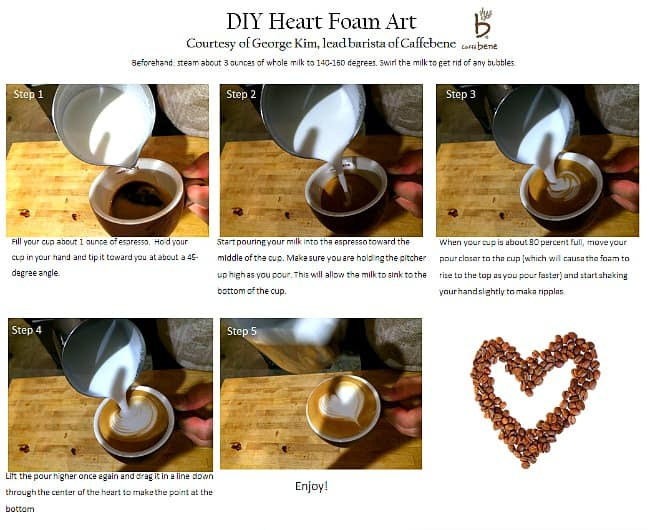 #DIY Heart Foam Art