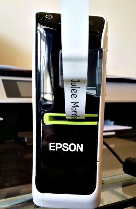 Epson LW-600P printing