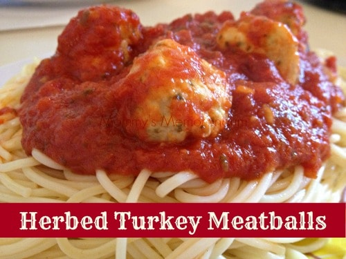 Herbed Turkey Meatballs #Recipe #McCormicksSpice #McCormickHomemade