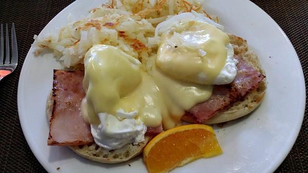 Hilton Garden Inn Eggs Benedict