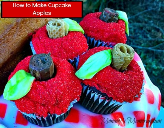 How to make cupcake apples