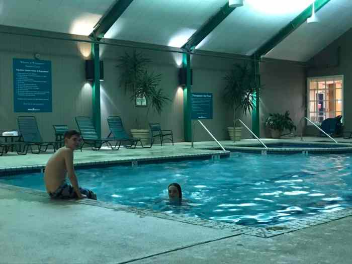 wintergreen pool and spa