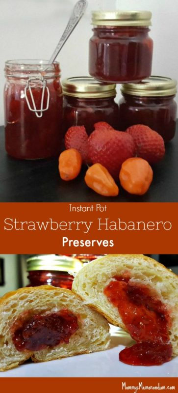 Instant Pot Strawberry Habanero Preserves Pin