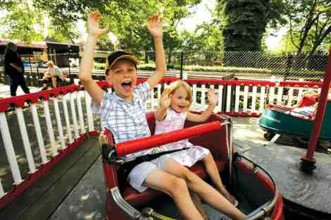 Kiddie ride photo courtesy of Kennywood Amusement Park