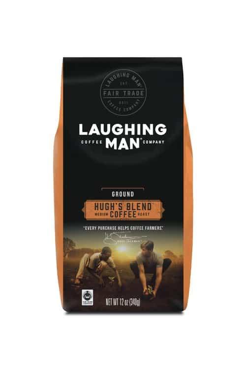 laughing man coffee hugh's blend