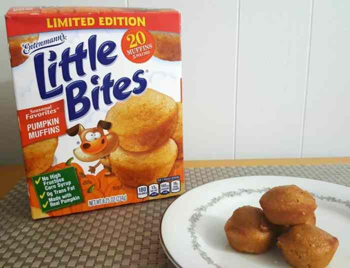 Little Bites pumpkin on plate