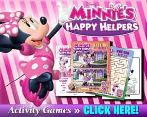Minnie's Happy Helpers Free Printable Activities