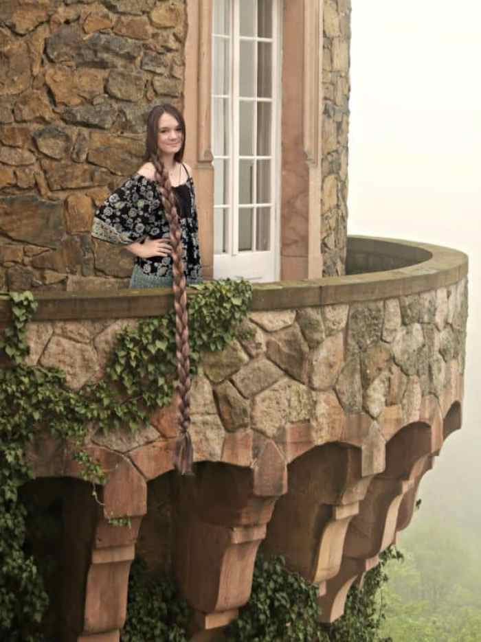 MacKenzie as Rapunzel