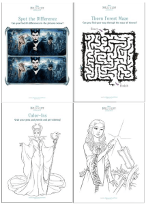 #Malificent Activity Sheets