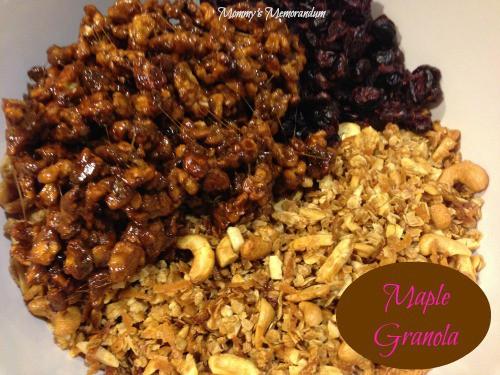 Maple Granola #Recipe