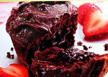 Molten chocolate chip cupcakes