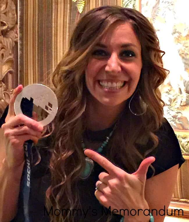 Noelle Pikus Pace with Silver Medal #coreundiet